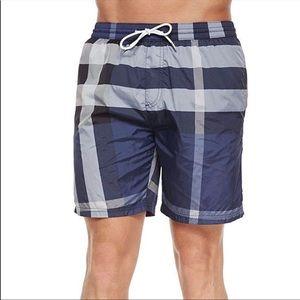 8a2103e224b87 Burberry Brit Gowers Men's size small swim shorts.